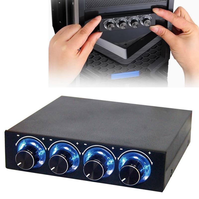 Boîtier de l'ordinateur CPU Fan Refroidisseur Radiateur Contrôlable Pin Connecteur De Refroidissement Ventilateurs Électroniques Régulateur XXM8