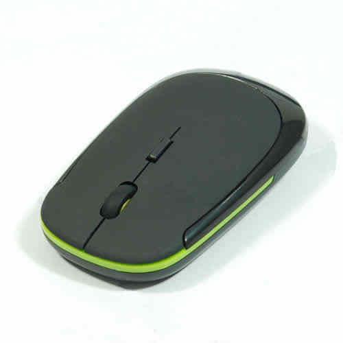 Mini 2.4GHz البصرية فائقة النحافة منخفضة الجهد مزعجة USB اللاسلكية الألعاب لعبة فأرة للكمبيوتر المحمول جودة عالية