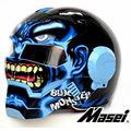 Blue Giant Hulk MASEI 610 motorcycle helmet IRONMAN Iron Man helmet half helmet open face helmet casque motocross