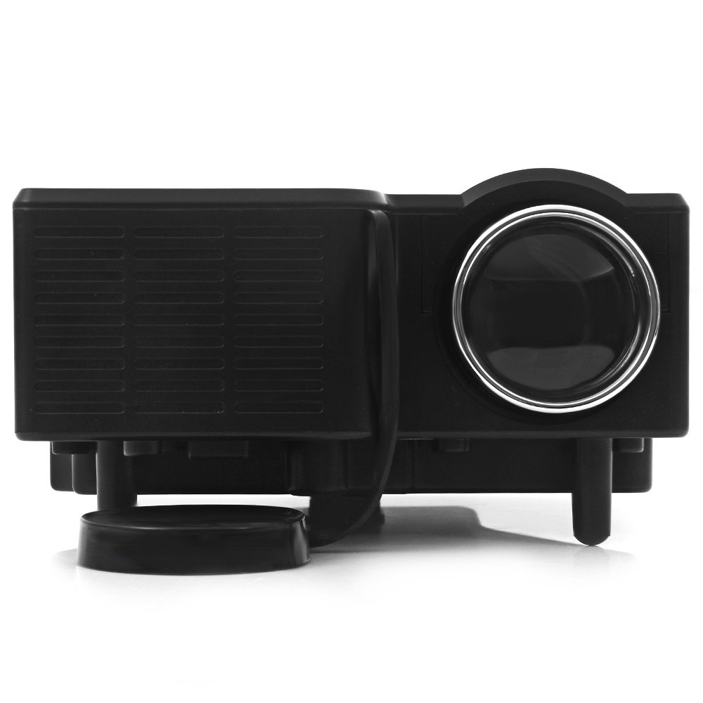 GM40 Projector Mini HD LED/LCD Proyector Home Multimedia USB Projetor Proiettore Black Beamer For Game Picture Display