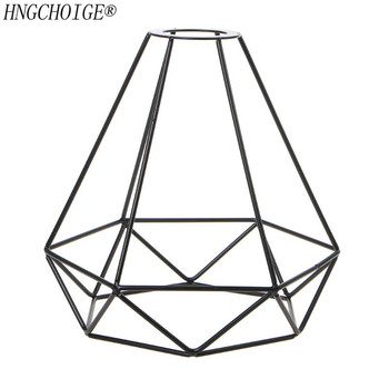 Lampshade Pendant Light Decor Indutrial Wire Cage Style Retro Birdcage Style Ceiling Metal Easy Fit For Home 1