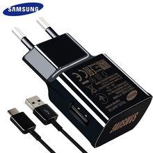 Samsung Galaxy Note9 S8 S9 plus быстрое зарядное устройство 15 Вт 9V1. 67A 1,2 м usb type C кабель адаптер для путешествий EU/US/UK Note8 S 8 C5 C7 C9pro