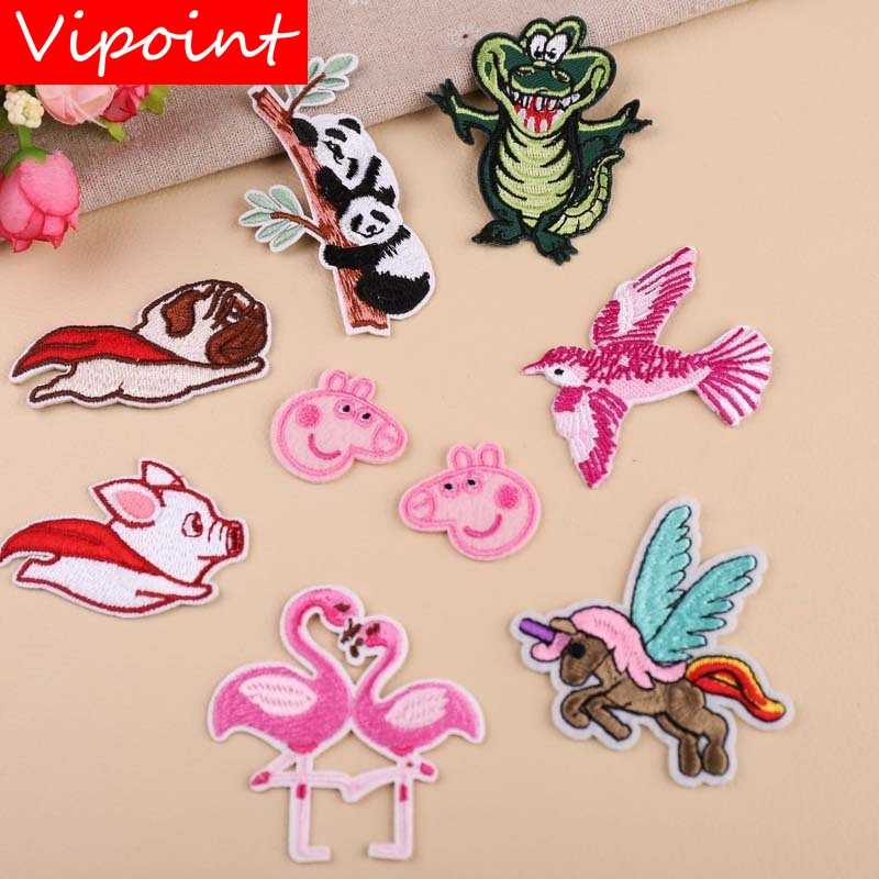 VIPOINT embroidery cartoon patches hero patches badges applique patches for clothing YX 38 in Patches from Home Garden