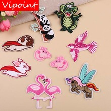 VIPOINT embroidery cartoon patches hero badges applique for clothing YX-38