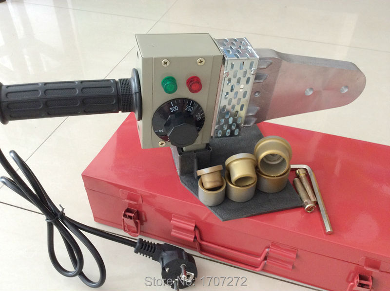 Free Shipping Boutique 20-32mm 220V 600W Temperature control ppr welding machine,plastic welding machine to weld plastic pipe free shipping with pipe cutter dn16 32mm ppr pipe welding machine welder for welding of plastic tube 220v 600w hot melt machine
