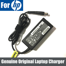 65 Вт 18,5 в ноутбук адаптер переменного тока зарядное устройство для hp ProBook 6445 6445B 6450 6450B 6540 6540B