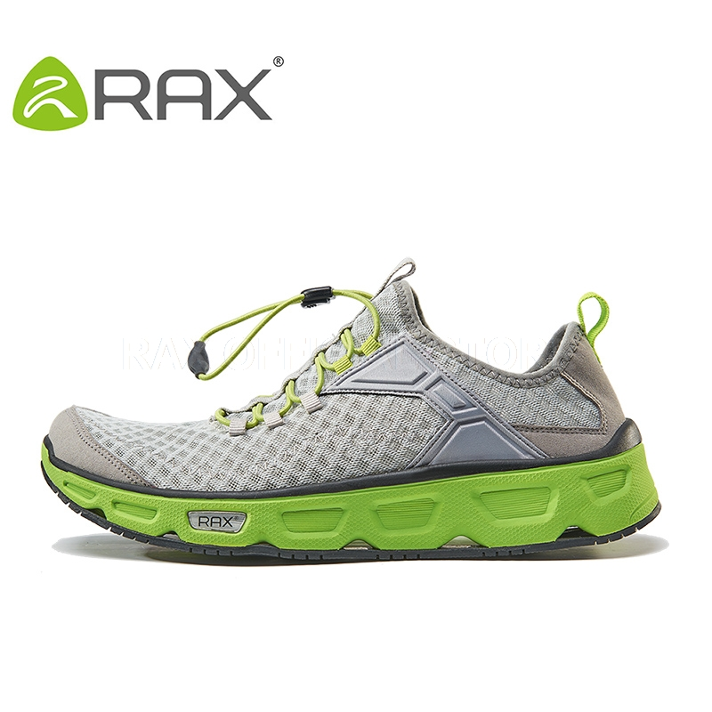 RAX 2017 Summer Men Hiking Shoes Breathable Trekking Shoes For Men Woman Mesh Hiking Sandals Outdoor Sports Sneakers Men Sandals humtto men s summer sports outdoor trekking hiking sandals shoes for men sport climbing mountain shoes man sandals
