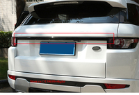 For Land Rover Range Rover Evoque Black Rear Door Trunk Lid Cover Trim 2012 2016 1pcs