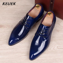 Large Size Wedding Shoes British Business Casual Leather Shoes Men Flats Breathable Slip Resistant Moccasins 02