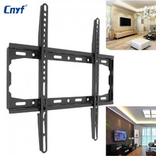 2018 Universal TV Wall Mount Bracket Fixed Flat Panel TV Frame for 26 to 55 Inch LCD LED Monitor Flat Panel(China)
