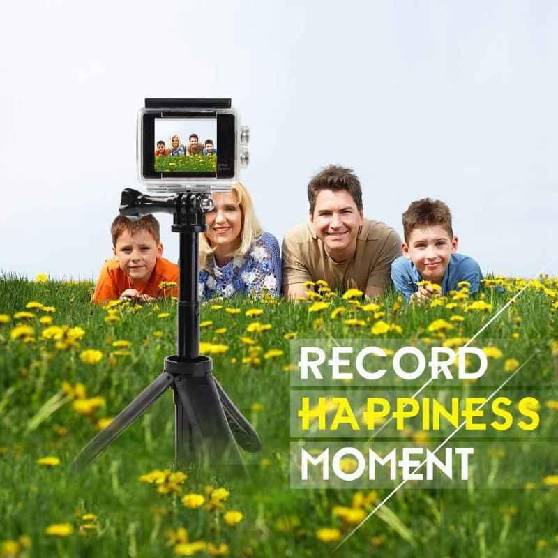 Мини Переносные штативы для селфи удлинение рукояти полюс Смарт розетки для экшн-камеры GoPro Xiaomi Yi SJCAM Камера