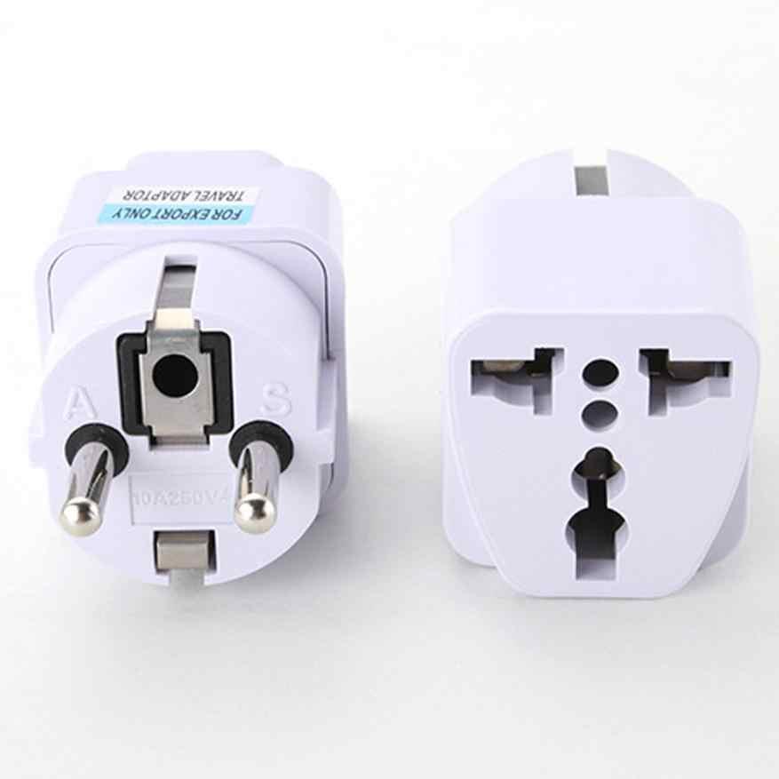 Adaptador universal UK US AU a enchufe de corriente alterna de la UE enchufe Usb smart Socket adaptador de viaje cargador Adaptador convertidor dropshipping