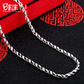 Beier new store 100% 925 silver sterling necklaces pendants trendy fine jewelry chains necklace for women/men  BR925XL050