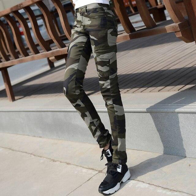 Femmes Taille Militaire Camouflage D'été Plus Casual Pantalon La rgzrwUq