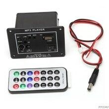 20W High Power DC 12V Bluetooth Car Subwoofer Hi-Fi Amplifier Board TF USB+Remote Bluetooth 2.1+EDR Audio input interface-Y11
