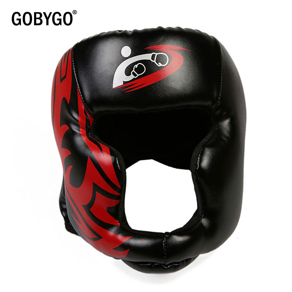Leather Boxing Head Guard Face protector Protection Guard Mens,Ladies