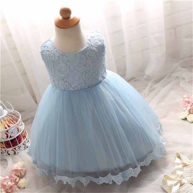 2017 Cute Newborn Party Birthday Dresses For Toddle O-neck Sleeveless Print Christening A-line Dress Voile Model Ruched