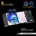 Блок водяного охлаждения Bykski для ASUS ROG Strix RX480 RX580  процессор GPU для ASUS ROG Strix