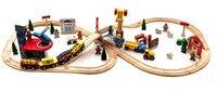 70 sztuk diy drewniane railroad kolejowych thomas i jego przyjaciół drewniane śledzić pociągu zabawki klocki ustawione pociąg toys prezenty dla dzieci toys