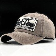 0c8b9a1475b18 Caliente 100% algodón hombres gorra de béisbol gorra snapback sombrero para  las mujeres gorras casuales gorra bordado carta .