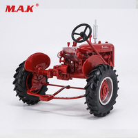 Toys for Children 1:16 Construction Vehicles Authentic ErtlFarmall B Tractor Diecast Car Agriculture Vehicle Model Collection