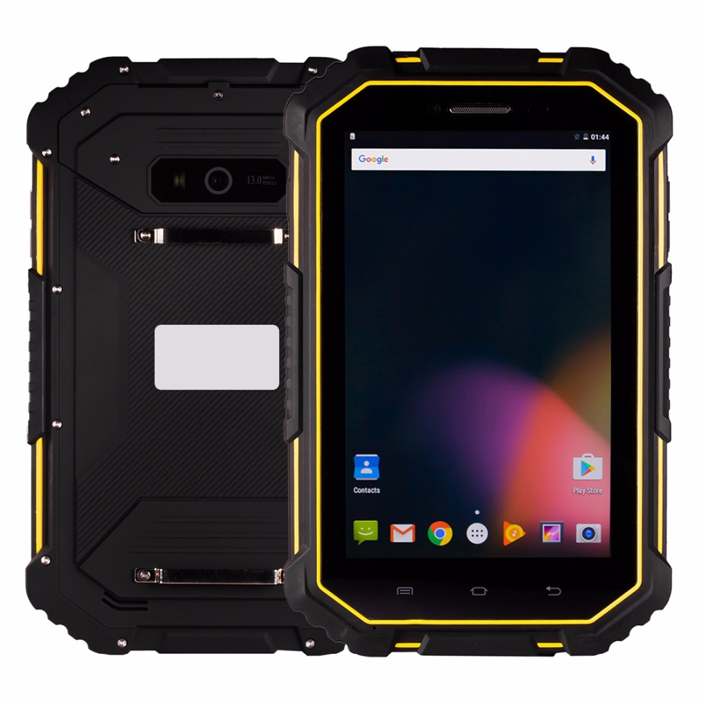 цена 7.0 inch 4G Phone Call Tablet PC MTK6735 Quad Core Android 6.0 2GB/ 16GB IP67 Waterproof Shockproof Dustproof 2 SIM GPS 7000mAh