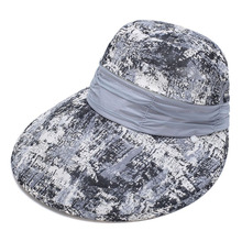 2017 Removable Summer Women Sun Shade Cap Multifunctional Chiffon Cloth Comfortable Lady Female Sun Block Caps