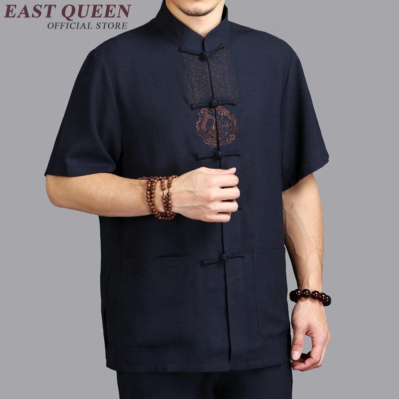 Vêtements traditionnels chinois chinois traditionnel hommes vêtements shanghai tang chinois traditionnel hommes vêtements KK697 W