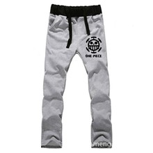Anime One Piece Trafalgar Law LOVERS pure cotton pants sports casual trousers cosplay gift NEW Fashion