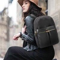 business travel backpack women nylon waterproof 15.6 inch laptop backpacks for school satchel large schoolbag back pack for girl