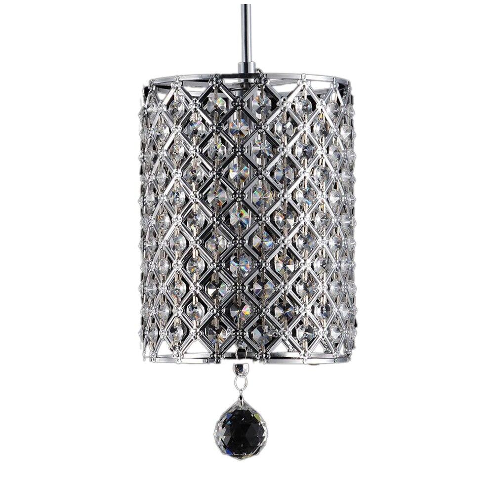 2 PACKS Modern Contemporary Chandelier Lighting Crystal Ball Fixture Pendant Ceiling Lamp, 1 Light E14 mymei modern new crystal led ceiling light fixture pendant lamp lighting chandelier