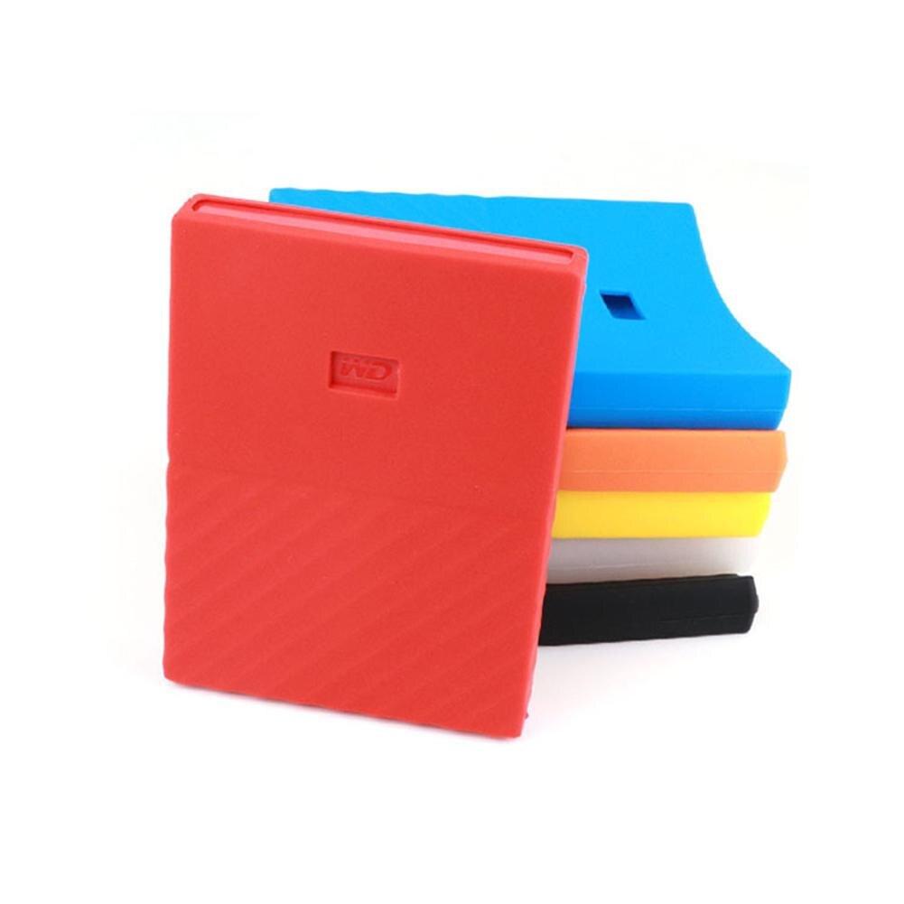 Silicone Non-Slip Hard Drive Protective Case Cover Skin For WD My Passport 1/2T