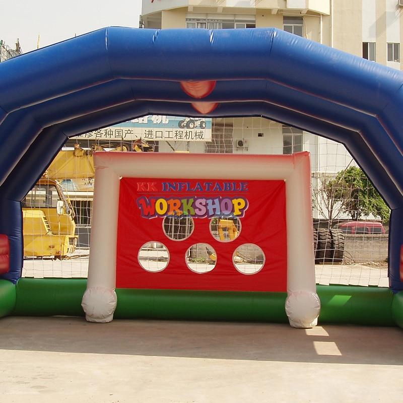 Multifunctional Inflatable Sports Game Basketball, football, volleyball, badminton shooting games