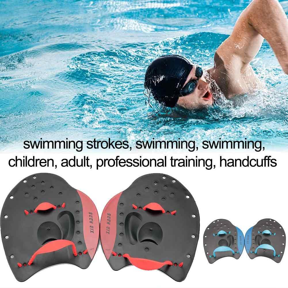 Гребли для плавания, гребли для ладони, упражнения для рук, наручники для плавания, перчатки для плавания, Ручные Ласты, набор для плавания для детей и взрослых
