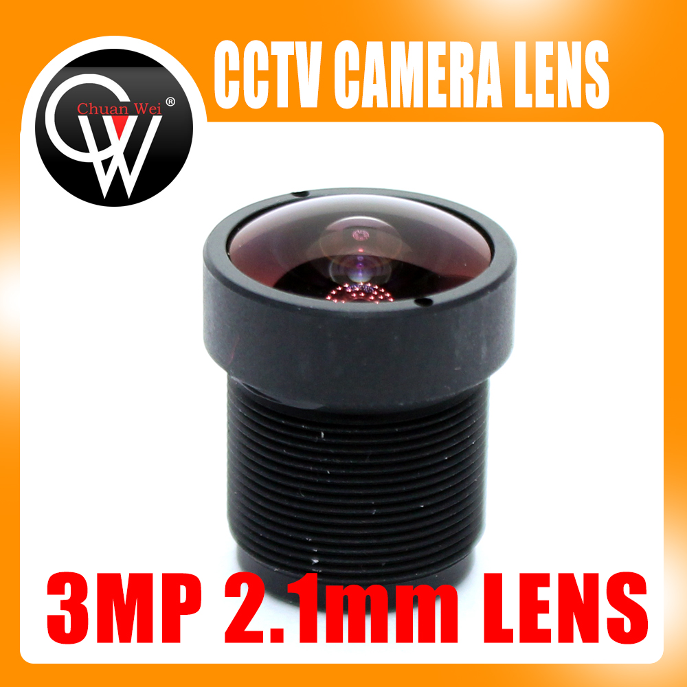 3MP HD 2.1mm CCTV Lens IP Camera Lens MTV Board IR M12 Lens F2.0 1/2.5