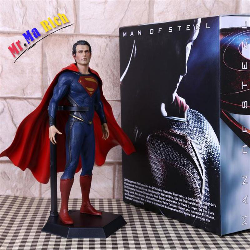 New Crazy Toys Superman Brinquedos Super Man Of Steel Pvc Action Figure Juguetes Model Doll Kids Toys Figurine 12 30cm free shipping cool big 12 justice league of america jla super man superman movie man of steel pvc action figure collection toy