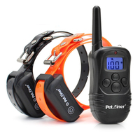 petrainer-pet998db-waterproof-rechargeable-dogs-remote-electronic-collar-training-necklace-for-dog-training-all-size-dogs