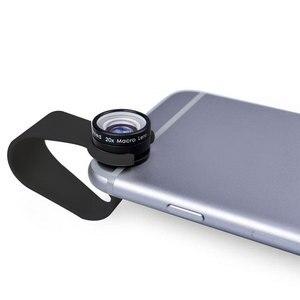 Image 2 - Điện Thoại di động Ống Kính Macro 20X Siêu ĐTDĐ Ống Kính cho Huawei dành cho Xiaomi dành cho iPhone