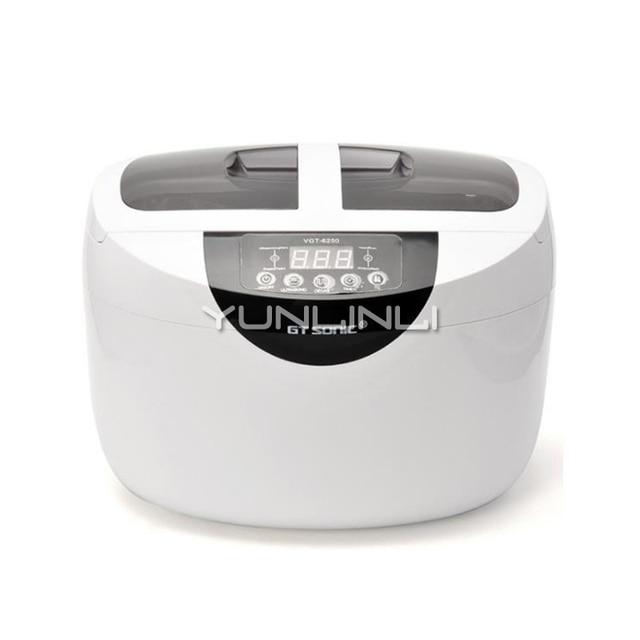 Household Ultrasonic Cleaner Glasses Watch Bottle Nipple Printer Ink Head Washing Machine VGT-6250