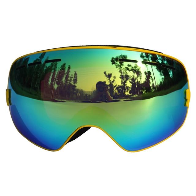 CE Certification Ski Glasses Double Lens UV 400 Anti-fog Ski Goggles Skiing Snowboard Motocross Goggles Big Ski Masks or Eyewear