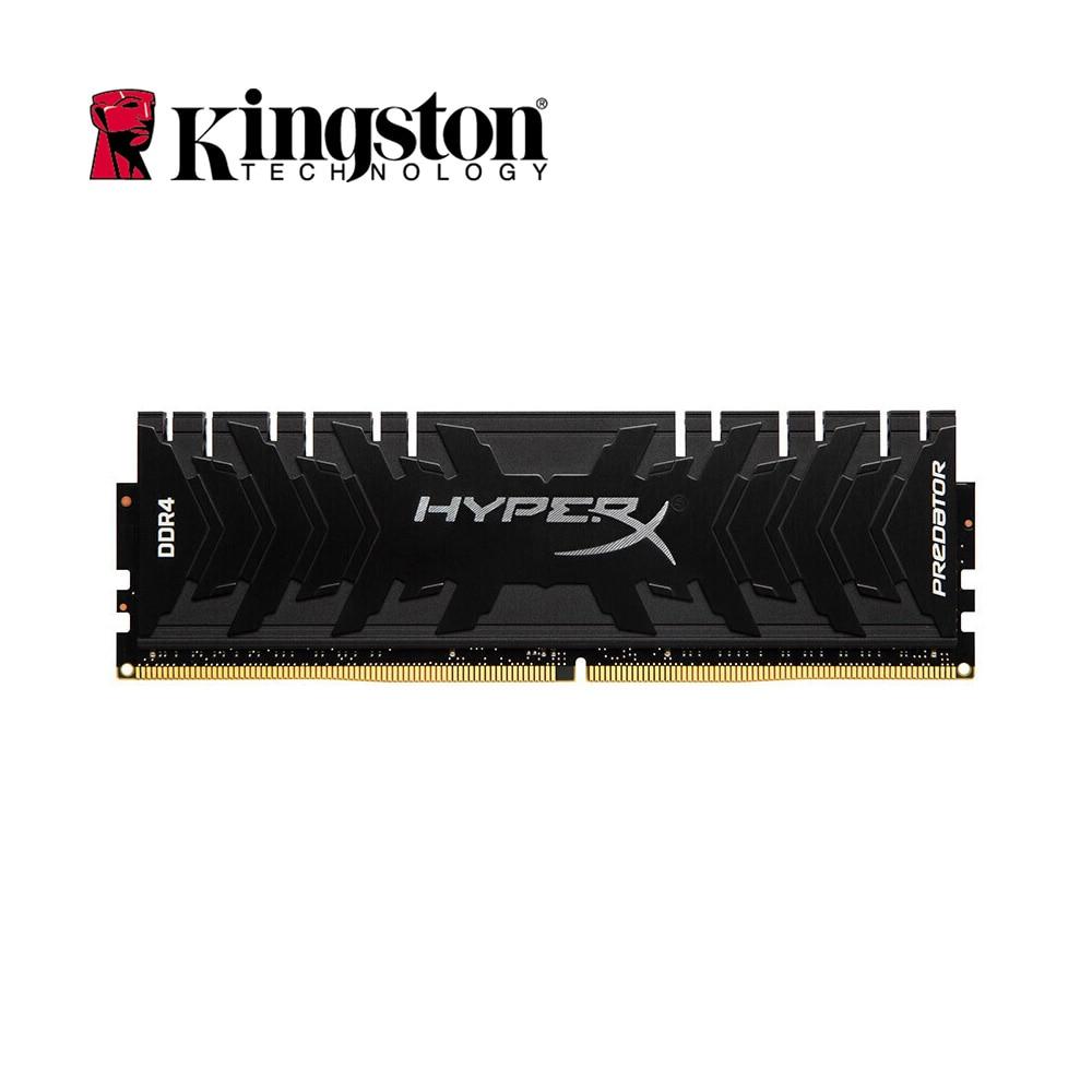 Kingston HyperX Fury Predator 3000MHz RAM DDR4 8GB Memory RAM DIMM 1.35V Intel Gaming Memory 288-Pin ram Black For Desktop PC kingston ram memory ddr4 hyperx fury 4gb 8gb 16gb 2400mhz ddr4 ram memory intel memoria ram desktop pc computer memory stick