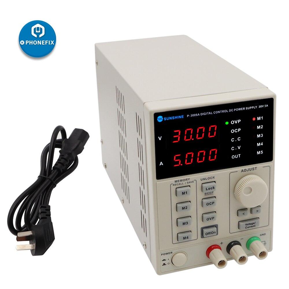 PHONEFIX P-3005A 30 V 5A remplacer 110 V KORAD KA3005D précision Variable réglable DC alimentation numérique de qualité de laboratoire régulée