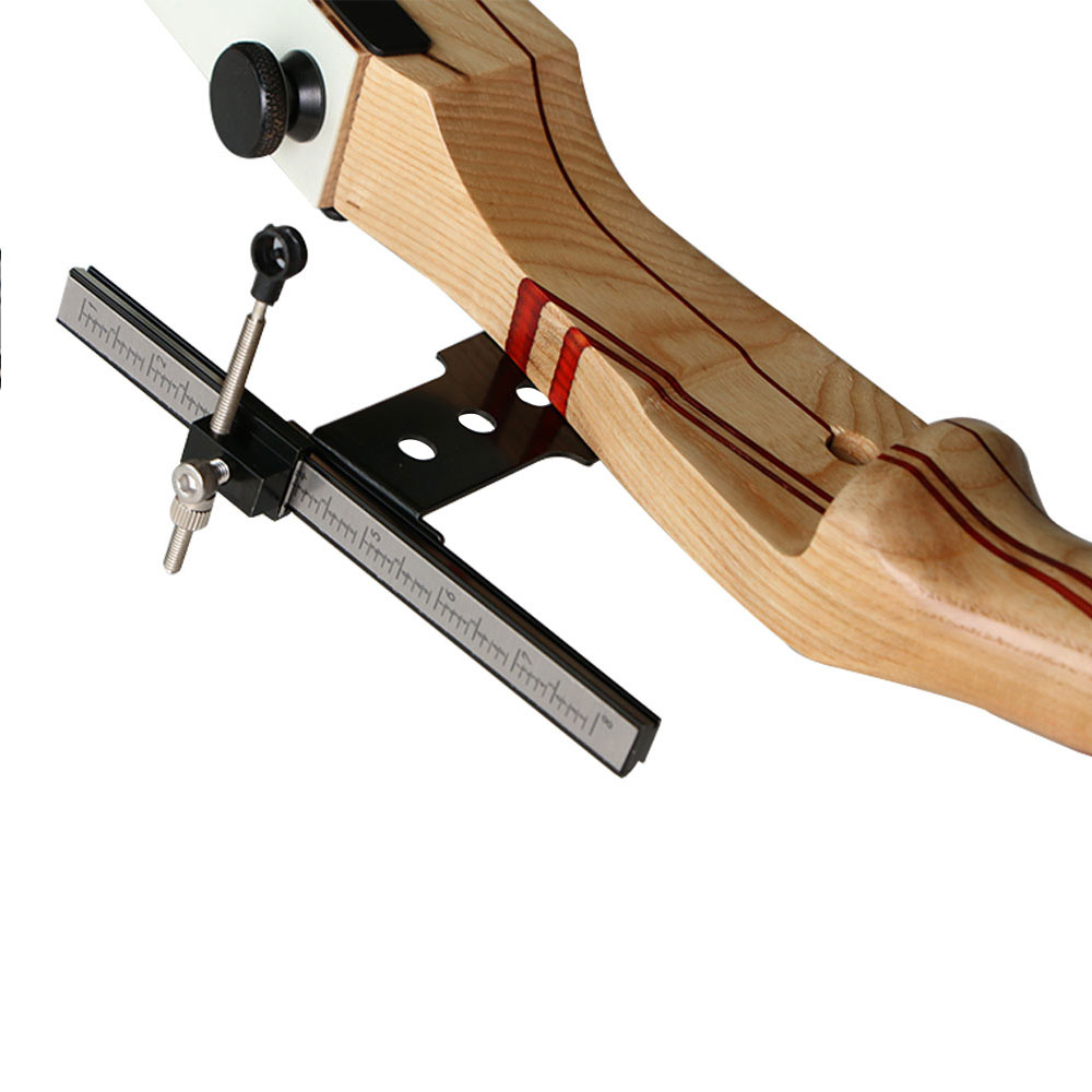 A Bow Sight voor Take Down Bow Wood Recurve Bow Boogschieten Hunting - Jacht - Foto 4