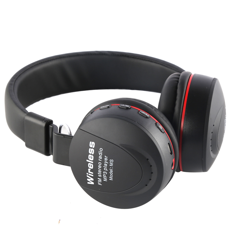 MS-771A Professional Studio DJ Headphones With Microphone Over Ear Wired HiFi Monitors Headset Foldable Gaming Earphone For PC