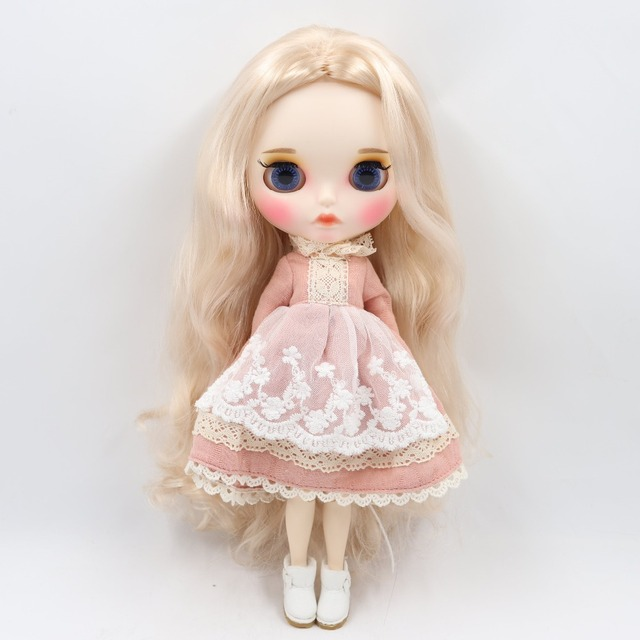 TBL Neo Blythe Doll Light Blonde Hair Jointed Body