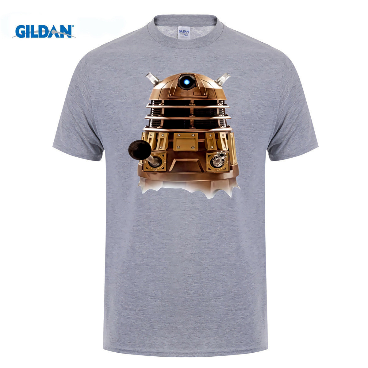 GILDAN Newest Breaking the Time Tardis doctor who Printed T shirts mens fashion short sleeve Novelty Cool Tee Tops Clothes