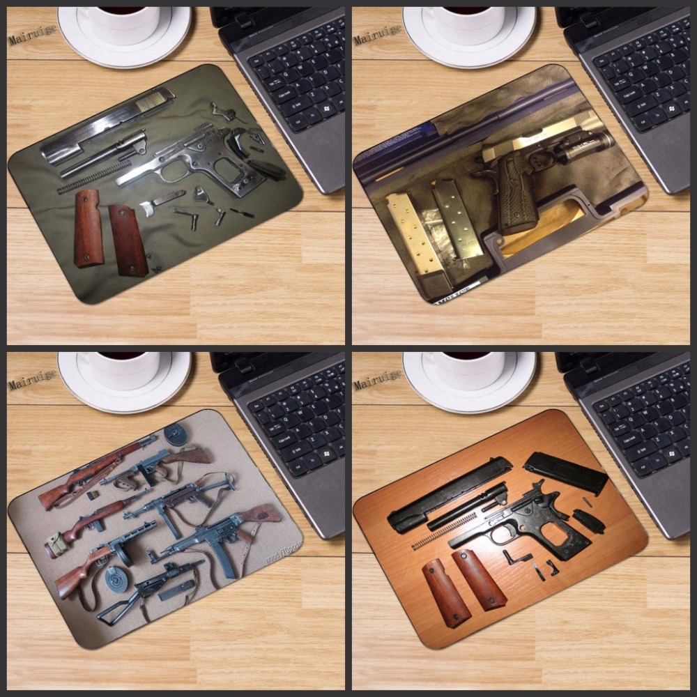 Mairuige Gun Part Customize Support Rubber Large Gaming Mouse Pad Laptop Computer Notebook Gift Mousepad Table Mat Three Size