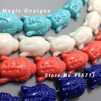 10 Pcs Mixed Colors Happy Buddha Beads Spiritual Jewelry Good Luck Fortune