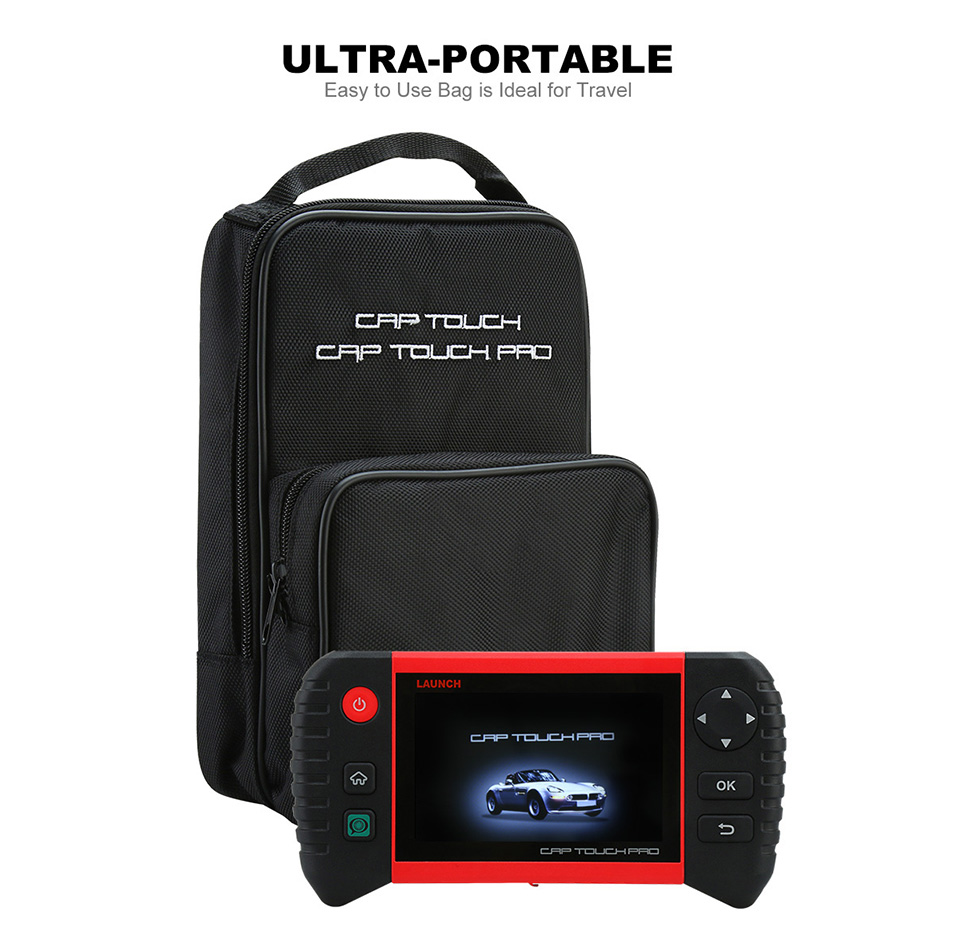 Image 5 - LAUNCH Creader CRP Touch Pro Full OBDII All System Scanner WiFi Diagnostic Scan Tool SAS EPB BMS DPF Oil reset Automotive Tool