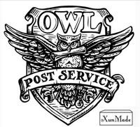 Retro Harry Potter Post Service OWL Wax Seal Stamp Copper Head DIY Scrapbooking Vintage Sealing Wedding